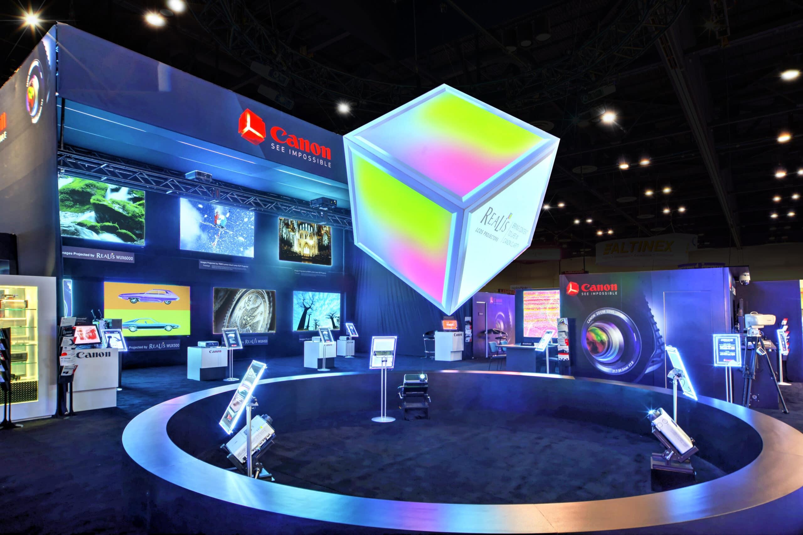 Custom exhibit display